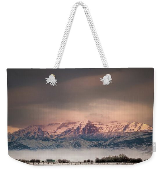 Timpanogos Rising Weekender Tote Bag