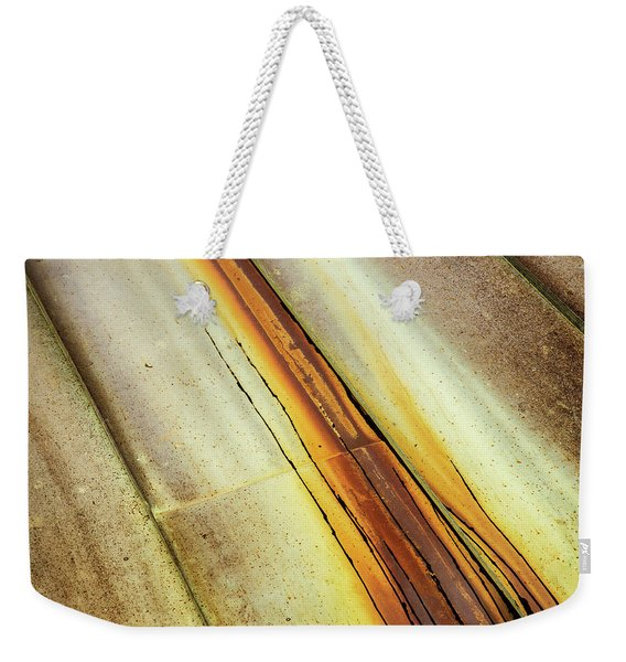 Tin Roof Abstract Weekender Tote Bag