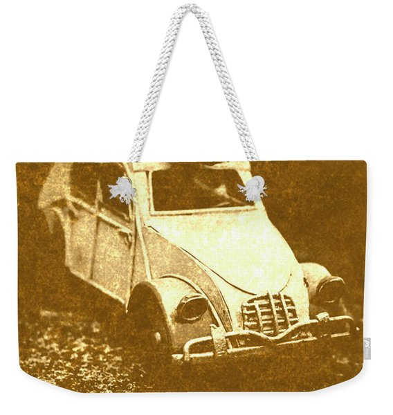 Tin Surf Adventure Weekender Tote Bag