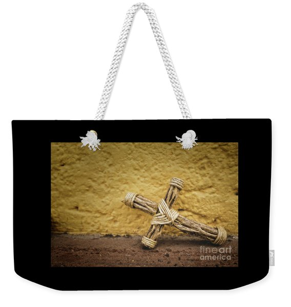 Tiny Cross  Weekender Tote Bag