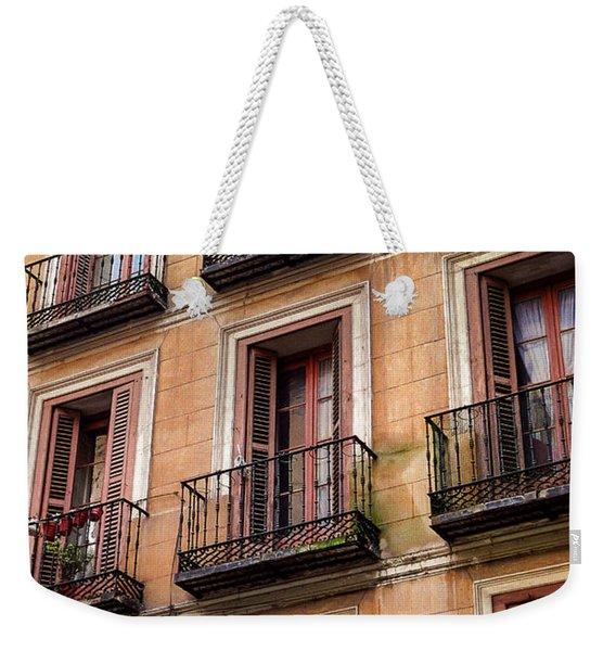 Tiny Iron Balconies Weekender Tote Bag