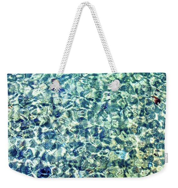 Tiny Ripples Weekender Tote Bag