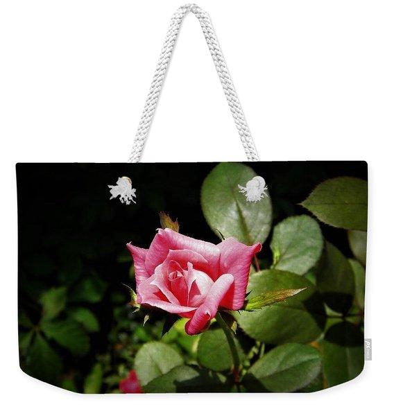 Tiny Rose Weekender Tote Bag