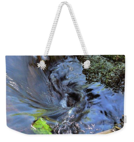 Tiny Whirlpool Weekender Tote Bag