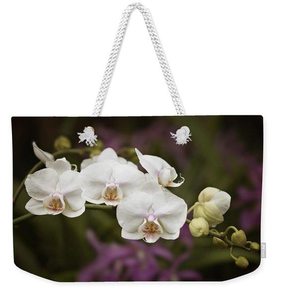 Tiny White Dancers Weekender Tote Bag