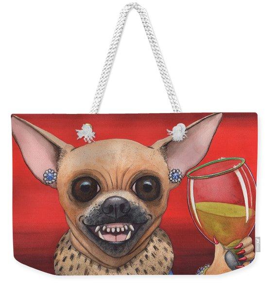 Tiny Winer Weekender Tote Bag