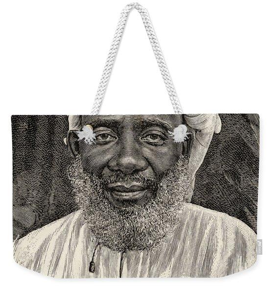 Tippu Tip Or Tib, 1837 To 1905, Real Weekender Tote Bag