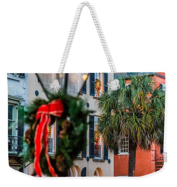 Tis The Season - Charleston Sc Weekender Tote Bag