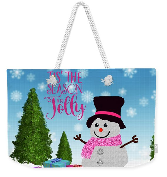Tis The Season Weekender Tote Bag