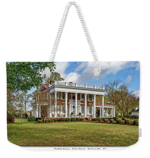 Tisdale Manor2 Weekender Tote Bag