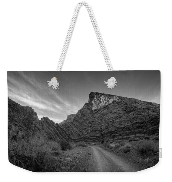 Titus Canyon Road Weekender Tote Bag