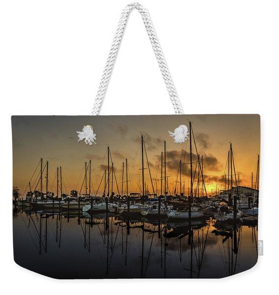 Titusville Marina Weekender Tote Bag