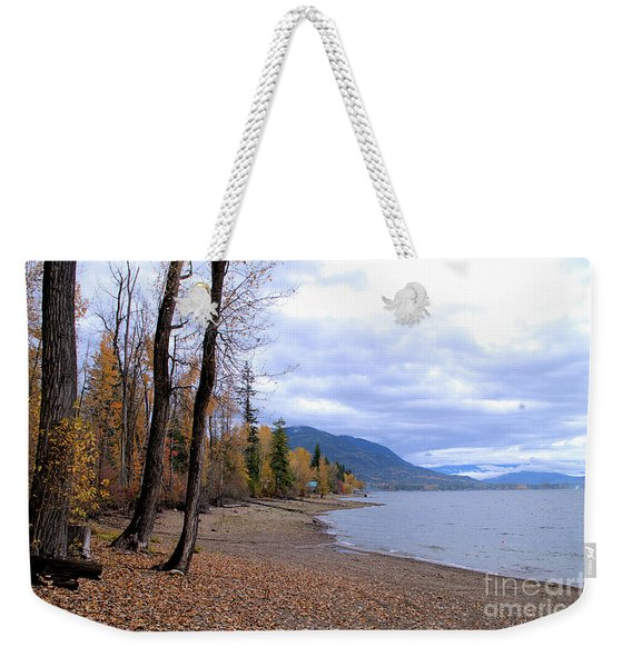 The Song Of October Weekender Tote Bag