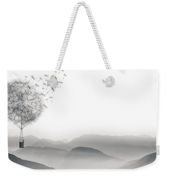 To Fly Only For A Moment Weekender Tote Bag