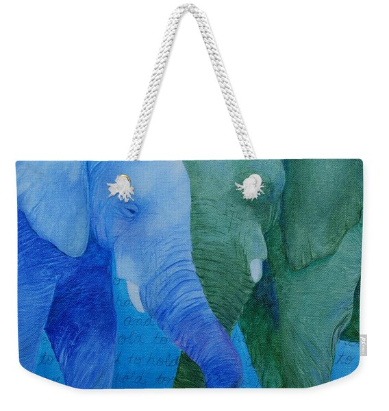 To Have And To Hold Weekender Tote Bag