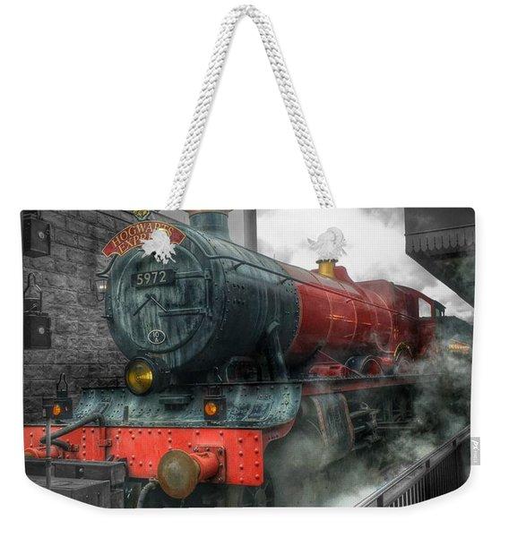 To Hogwarts  Weekender Tote Bag