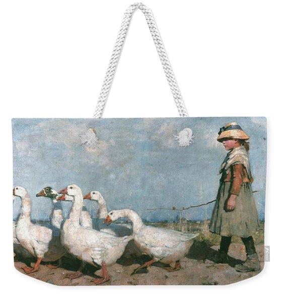 To Pastures New Weekender Tote Bag