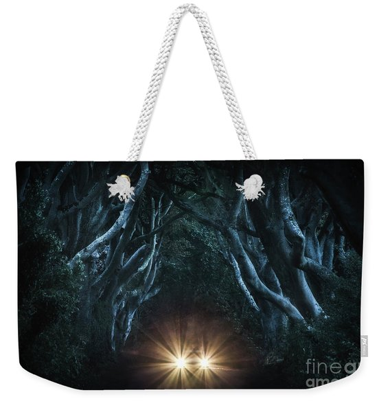 To The End Of The Night Weekender Tote Bag
