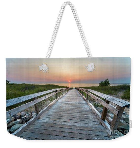 To The Lake In Onekama Weekender Tote Bag