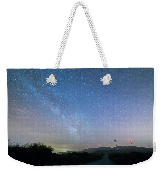 To The Left Weekender Tote Bag