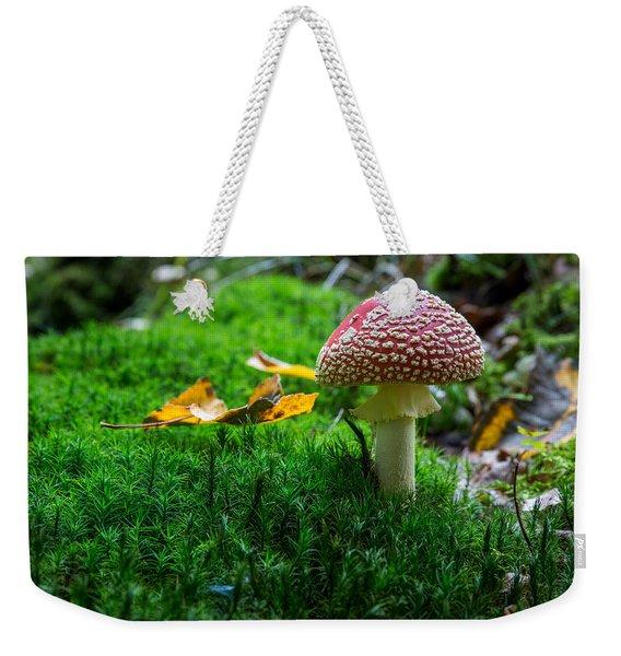 Toadstool Weekender Tote Bag