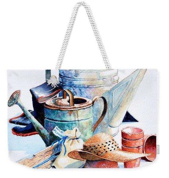 Todays Toil Tomorrows Pleasure II Weekender Tote Bag