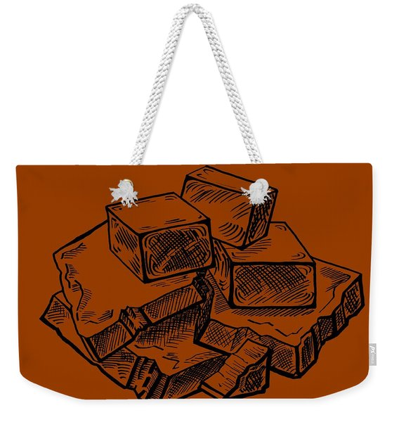 Toffee Fudge And Caramel  Weekender Tote Bag