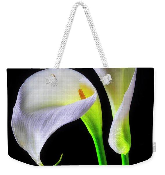 Together Calla Lilies Weekender Tote Bag