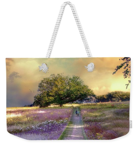 Together We Can Weather The Storms Weekender Tote Bag
