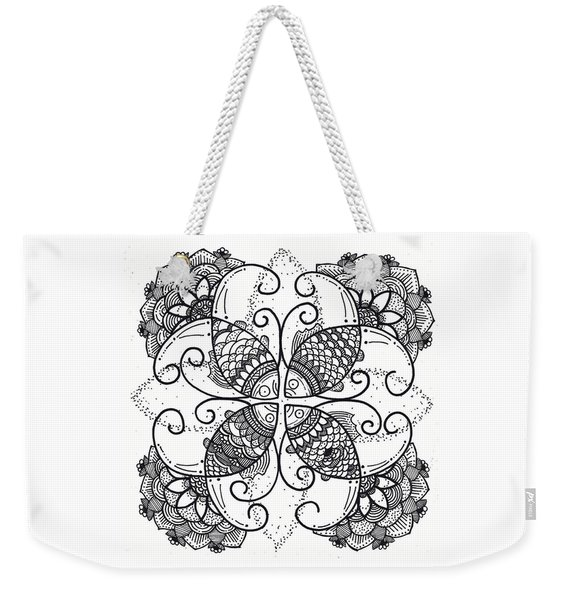 Together We Flourish - Ink Weekender Tote Bag