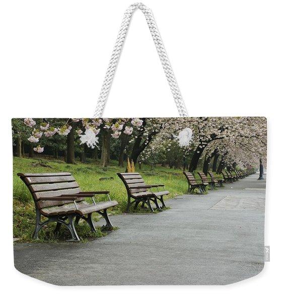 Tokyo Cherry Blossoms  Weekender Tote Bag