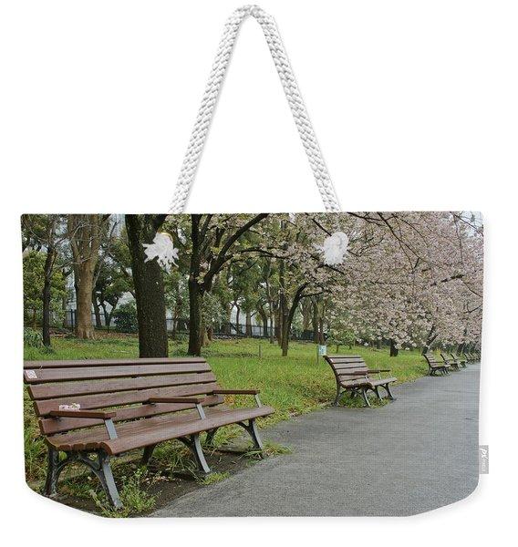 Tokyo Spring Weekender Tote Bag
