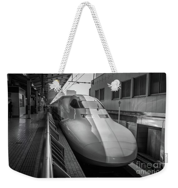 Tokyo To Kyoto Bullet Train, Japan 3 Weekender Tote Bag