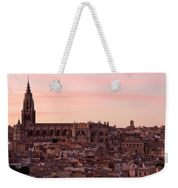 Toledo Cathedral Weekender Tote Bag