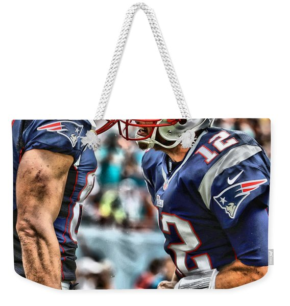 Tom Brady Art 4 Weekender Tote Bag