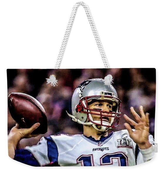 Tom Brady - Touchdown Weekender Tote Bag