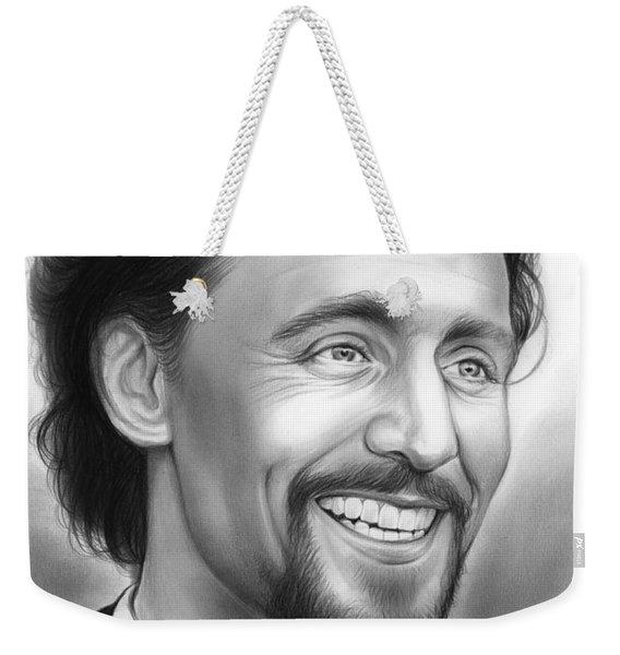 Tom Hiddleston Weekender Tote Bag