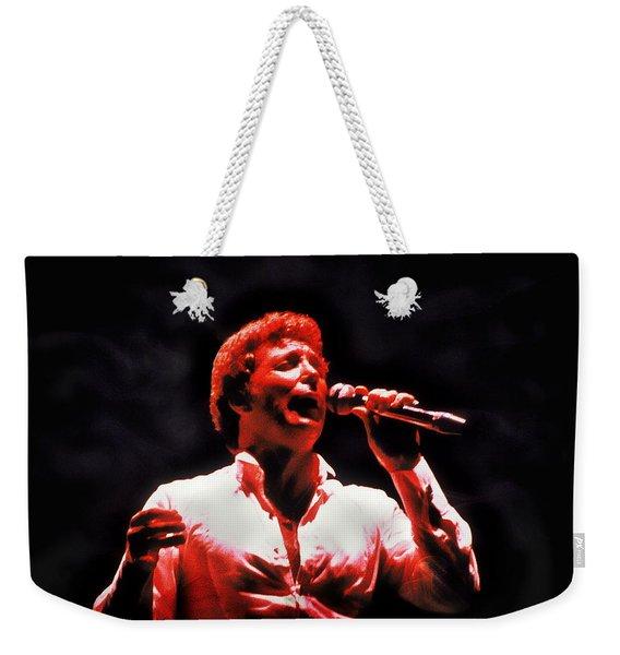 Tom Jones In Concert Weekender Tote Bag
