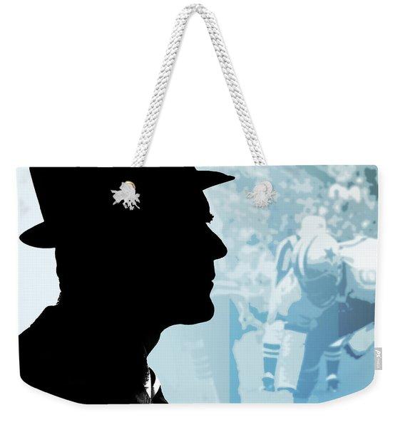 Tom Landry Weekender Tote Bag