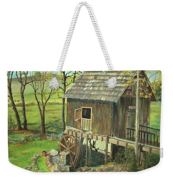 Tom Lott's Mill In Georgia Weekender Tote Bag
