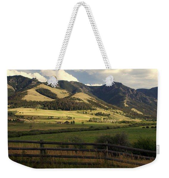 Tom Miner Vista Weekender Tote Bag