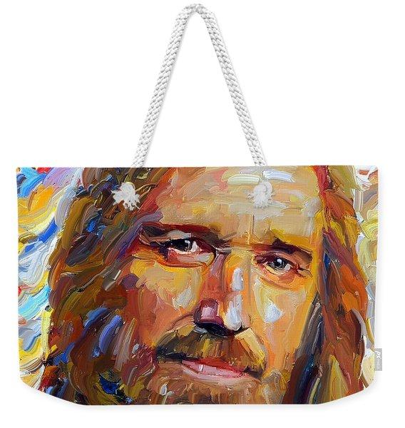 Tom Petty Tribute Portrait 1 Weekender Tote Bag