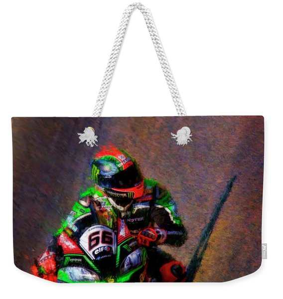 Tom Sykes 2016 Kawasaki Weekender Tote Bag