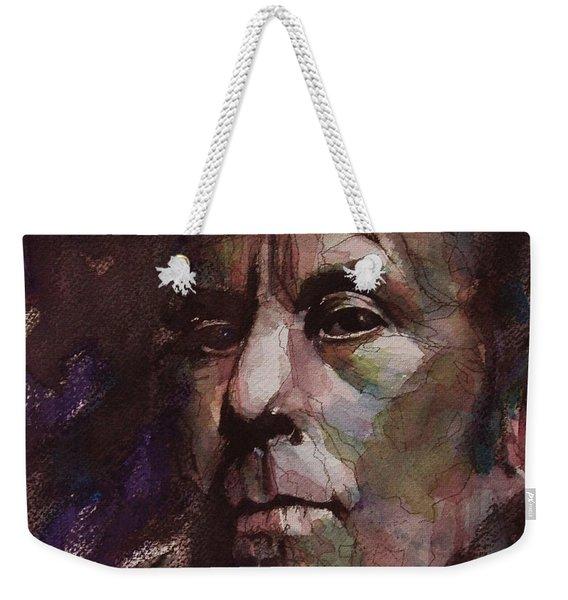 Tom Waits Art Weekender Tote Bag