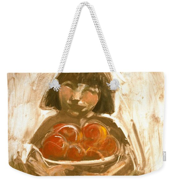 Tomato Girl Weekender Tote Bag
