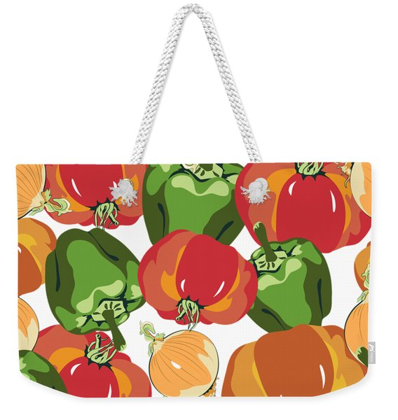 Tomato Sauce Ingredients Weekender Tote Bag