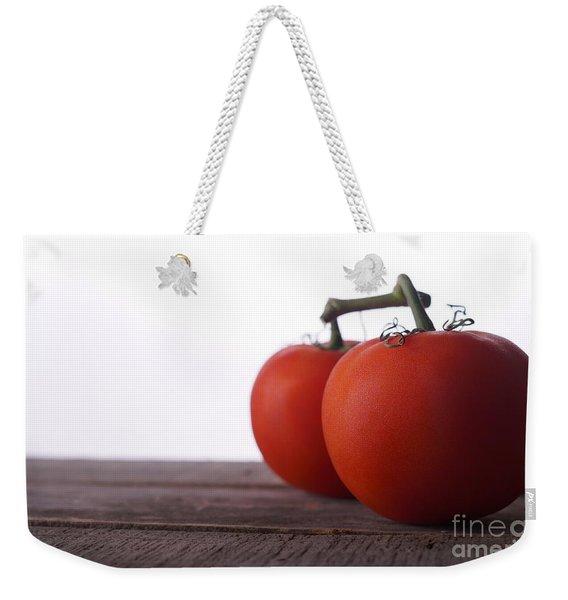 Tomatoes On A Vine Weekender Tote Bag