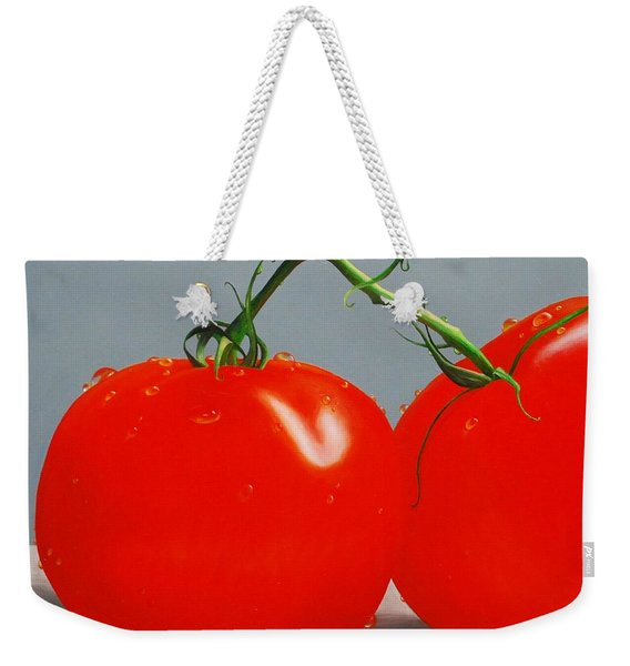Tomatoes With Stems Weekender Tote Bag