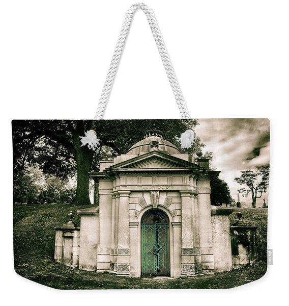 Tomb Of Woodlawn Weekender Tote Bag