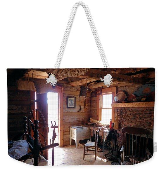 Tom's Old Fashion Cabin Weekender Tote Bag
